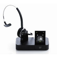 Jabra PRO 9460 Mono Wireless Headset with Touchscreen for Softphone and Desk Phone