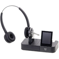 Jabra PRO 9460 Duo Wireless Headset with Touchscreen for Softphone and Desk Phone