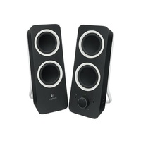 Logitech Z200 Multimedia 2.0 Speakers, Black - 980-000850