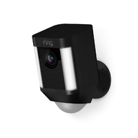 Ring Spotlight Wireless Security HD Camera (Black)