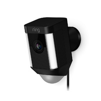 Ring Spotlight Wired Security Camera (Black)