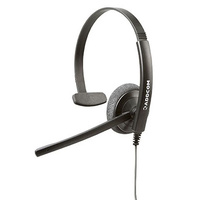 ADDCOM ADD40 Mono NC Economical and Robust Monaural Headset - Yealink QD Cable included