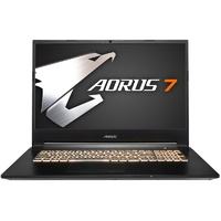 "Gigabyte AORUS 7 17.3"" 144Hz Gaming Laptop i7 16GB 512GB+1TB GTX1660Ti W10H"
