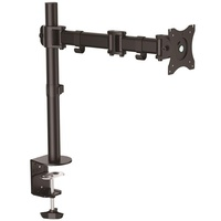 StarTech Desk-Mount Monitor Arm - Articulating - Heavy Duty Steel ARMPIVOTB