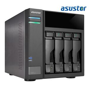 ASUSTOR AS6004U 4-bay expansion box support USB3.0 power sync mechanism Maximum 64TB Hot Swap