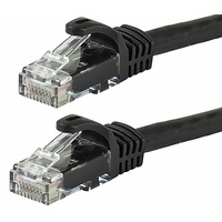 Astrotek CAT6 Cable 20m - Black Color Premium RJ45 Ethernet Network LAN UTP Patch Cord 26AWG-CCA PVC Jacket