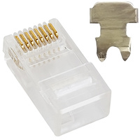 Astrotek RJ45 Plug for Stranded Cable 20pcs Per Unit - AT-RJ45PLUG-5E