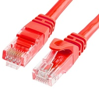 Astrotek CAT6 Cable 50cm/0.5m - Red Color Premium RJ45 Ethernet Network LAN UTP Patch Cord 26AWG-CCA PVC Jacket