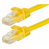 Astrotek CAT6 Cable 2m - Yellow Color Premium RJ45 Ethernet Network LAN UTP Patch Cord 26AWG-CCA PVC Jacket
