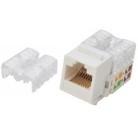 Astrotek CAT6 UTP Keystone Jack for Socket kit 10ps per pack Poly Bag White