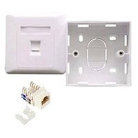 Astrotek 1 Port Socket Kit for CAT5E