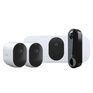 Arlo The Everyday Bundle - Arlo Pro 3 + Doorbell + Floodlight camera + Arlo Hub