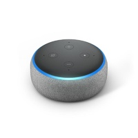 Amazon Echo Dot with Alexa (3rd Generation v2)  - Heather Grey