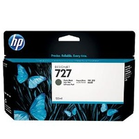 Hewlett Packard 727 130ML MATT BLACK CARTR IDGE
