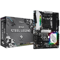 ASRock B450 Steel Legend AM4 ATX Motherboard
