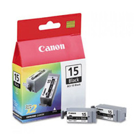 Canon BCI15BK Black Ink Tank 150 pages Black