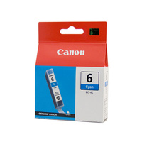 Canon BCI6C Cyan Ink Tank 100 pages Cyan