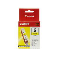 Canon BCI6Y Yellow Ink Tank 100 pages Yellow