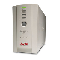 APC Back-UPS CS 500VA RoHS DB-9 RS-232 & USB Ports