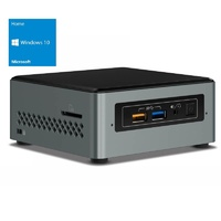 Intel BOXNUC6CAYSAJR NUC Mini PC - Celeron J3455 2GB RAM 32GB Storage Windows 10