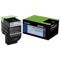 Lexmark C236HK0 BLACK HIGH YIELD RETURN PROGRAM TONER 3K FOR C2425DW MC2425DW