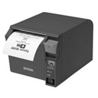 EPSON  Thermal Receipt printer with Dual Parallel/USB Interface with Power Supply Dark Grey