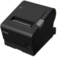EPSON POS Printers TM-T88VI-581 Bluetooth + built-in Ethernet & built-in USB With PSU no data or power cables Black colour