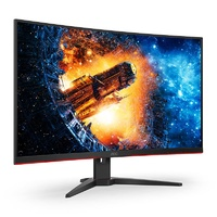"AOC C32G2E 31.5"" 165Hz FHD 1ms FreeSync VA Curved Gaming Monitor"