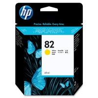 Hewlett Packard 82 YELLOW 69-ML INK CARTRIDGE FOR DESIGNJET 500, 800, 1000