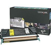 Lexmark YELLOW (PREBATE) TONER YIELD 5000 PAGES, FOR C524N, C532, C534