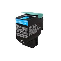 Lexmark C540H1CG CYAN TONER YIELD 2K PAGES FOR C540, C543, C544, X543, X544