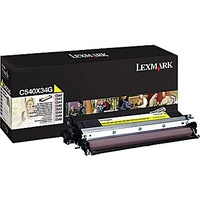 Lexmark C54X, X54X YELLOW DEVELOPER UNIT YIELD 30K PAGES