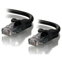 Alogic 15m Black CAT6 Network Cable