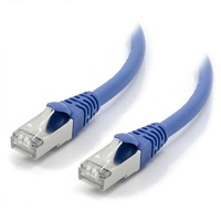 Alogic 10m Blue 10G Shielded CAT6A Network Cable
