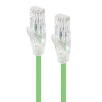 Alogic 1m Alpha Series Ultra Slim CAT6 Network Cable - Green