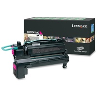 Lexmark C792X1MG MAGENTA (PREBATE) TONER YIELD 20,000 PAGES C792
