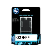 HP 02 Black Inkjet Print Cartridge (C8721WA)