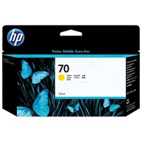 Hewlett Packard 70 YELLOW 130 ML INK C9454A FOR Z2100, 3100, 3200