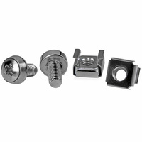 StarTech 100 Pkg M6 Mounting Screws and Cage Nuts