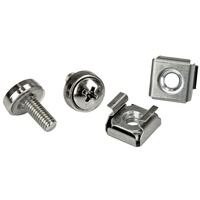 StarTech M5 Cage Nuts and M5 Rack Screws - 20 PKG - M5 Screws & Nuts