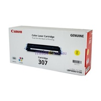 Canon CART307Y Toner Cartridge 307 Yellow suit LBP5000