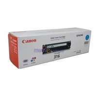 Canon CART316C Cyan Cartridge 1.5K pages for LBP5050N