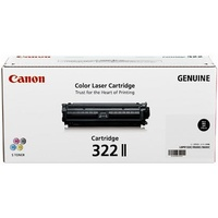 Canon Black High Yield Toner cartridge (CART322BKII)