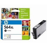 HP 564XL Photo Black Ink Cartridge (CB322WA)