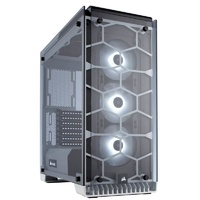 Corsair Crystal 570X RGB Tempered Glass Mid-Tower ATX Case - White