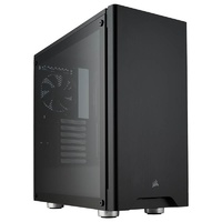 Corsair Carbide 275R Tempered Glass Mid-Tower ATX Case - Black