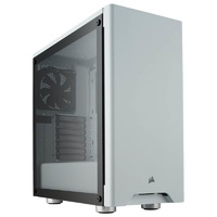 Corsair Carbide Series 275R Tempered Glass Mid-Tower ATX Case - White