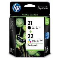 HP 21 /22 INK COMBO PACK CC630AA