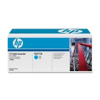 HP 650A Cyan LaserJet Toner Cartridge (CE271A)