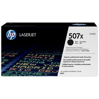 HP 507X Black LaserJet Toner Cartridge (CE400X)